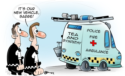 Police Oracle Cartoons