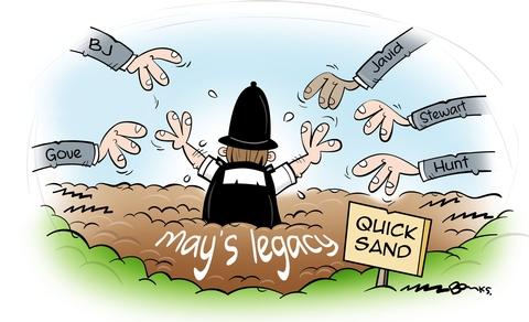 How Theresa May's war on the police backfired Cartoon_1740