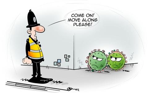 Police Oracle Cartoon - 17/03/20