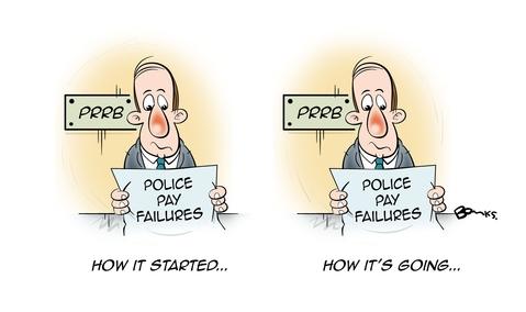 Police Oracle Cartoons