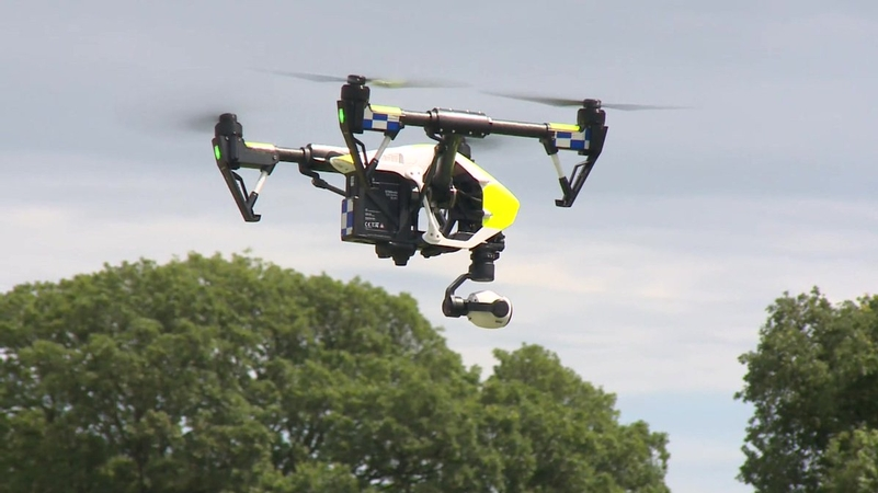 UK's first 24-hour police drone unit has lift off