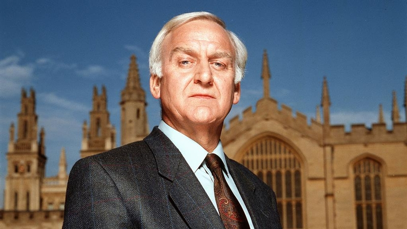 Top cop: DCI Morse played by John Thaw