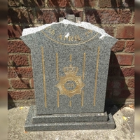 What can be done to protect police memorials from vandals?