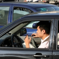 Police 'frustrated' over car smoking ban