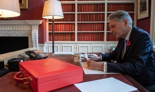 Open the box: Philip Hammond accused of breaking his promise