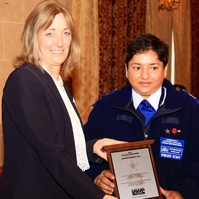 'Dedicated' PCSO receives award for prevention work