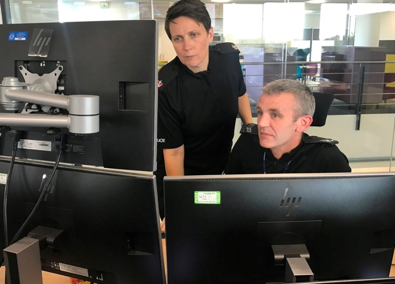 Cleveland control room: It is hoped the move will help counter recent criticism of the force by HMICFRS that it did not engage with local communities