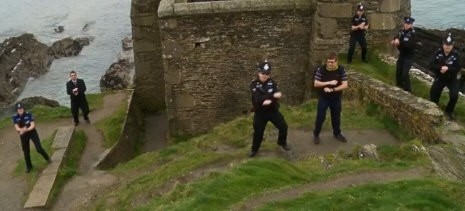Officers Go 'Gangnam Style' In Fundraising Video
