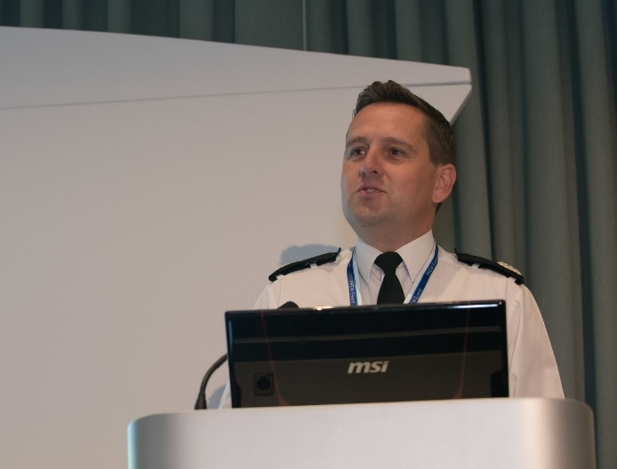 ACC Nev Kemp speaking at the Police Federation National Custody Seminar