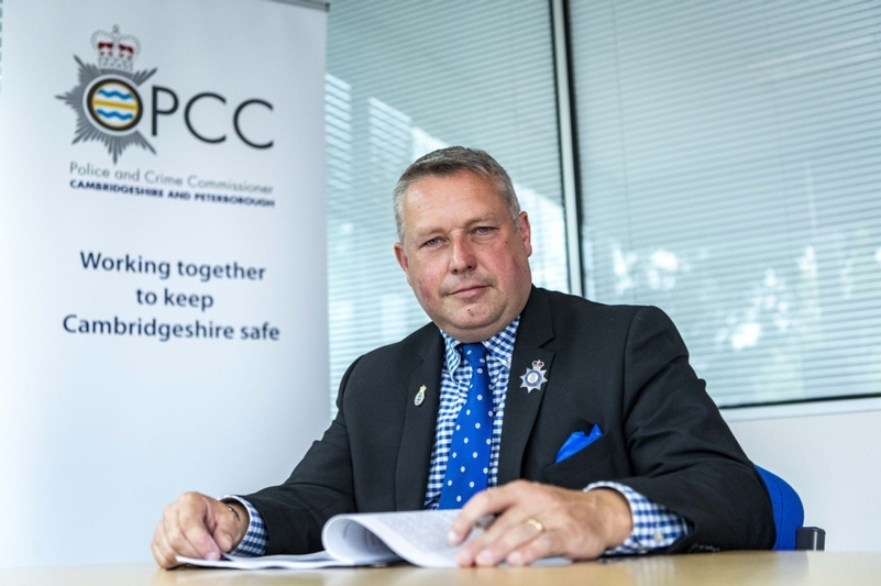 Cambridgeshire PCC resigns after complaint referred to IOPC