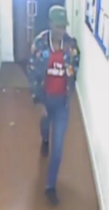 CCTV footage released by Met detectives of a man who they wish to speak to in connection with a sexual assault