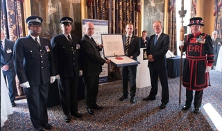 Royal recognition for the authority on fallen officers