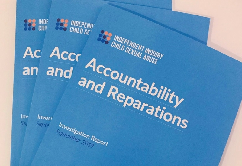 Report: The IICSA's findings on accountability and reparations published today