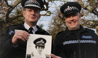 Officer who applied to join the force aged nine retires after 30 years