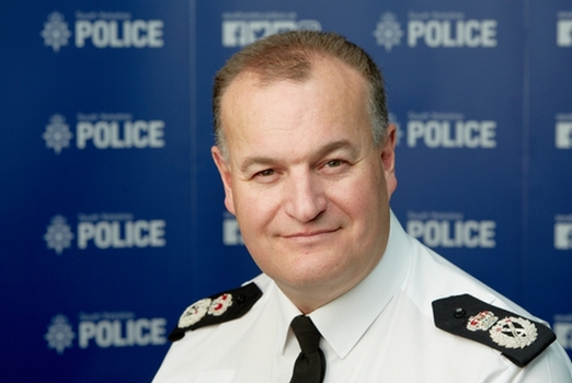 Chief Constable Stephen Watson