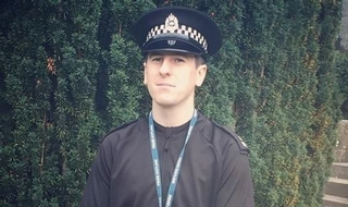 PC Rhys Prentice has died, aged 24