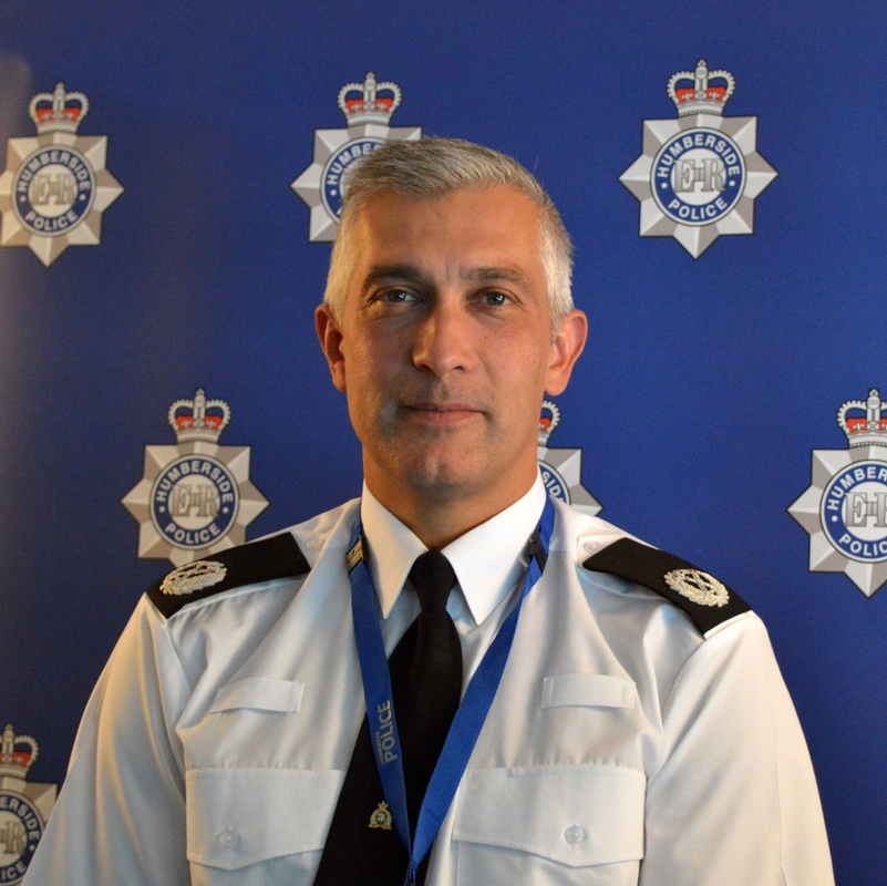Humberside Assistant Chief Constable Paul Anderson