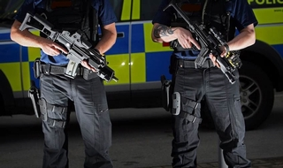 Huge drop in firearms officer numbers despite threats