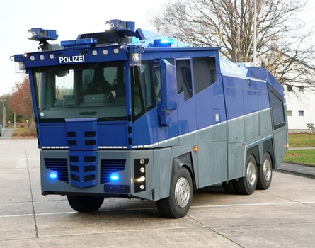 No 'rival bid' for Met's water cannon