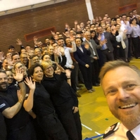 Almost 100 apprentice PCs join forces