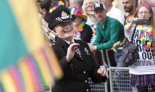 Officer steals show at Pride parade with impressive dance routine