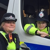 Police mad primary school pupil gets station tour