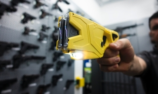 UK 'best' force takes aim with Taser to protect public and police from violent upswing