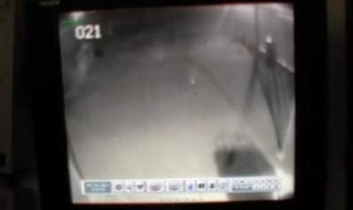 'Ghost' caught on police station CCTV