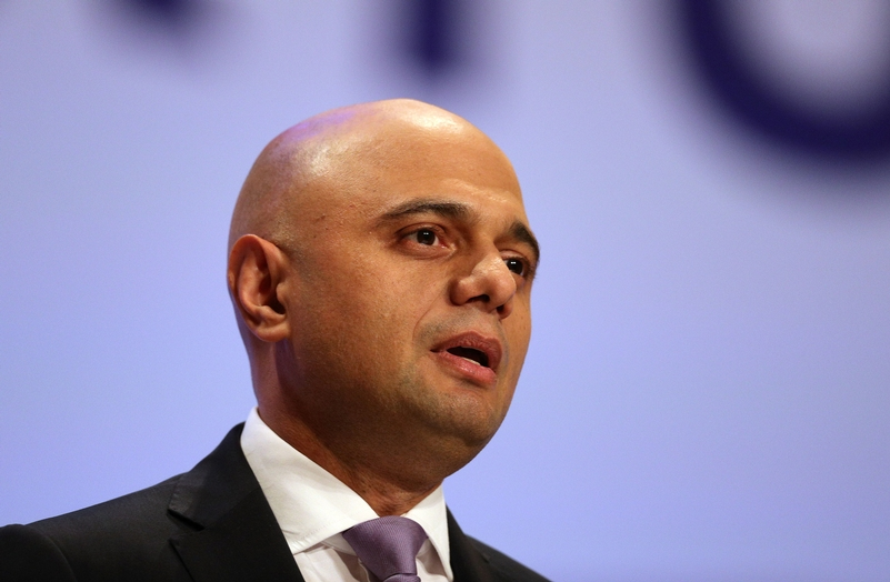 Home Secretary Sajid Javid will address delegates
