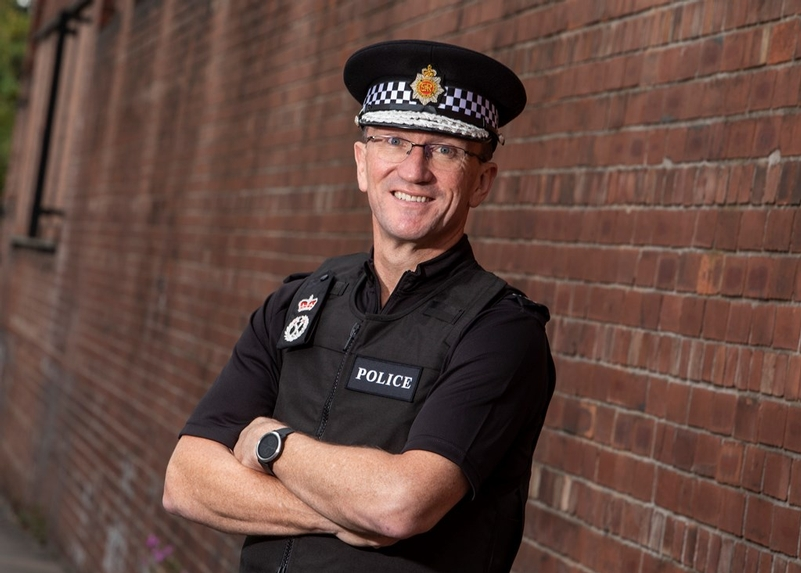 Ian Hopkins, Greater Manchester Police Chief Constable