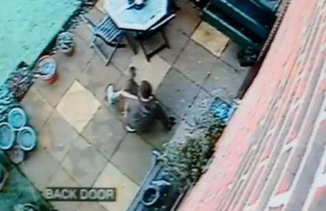 Pebble Burglar Caught On CCTV