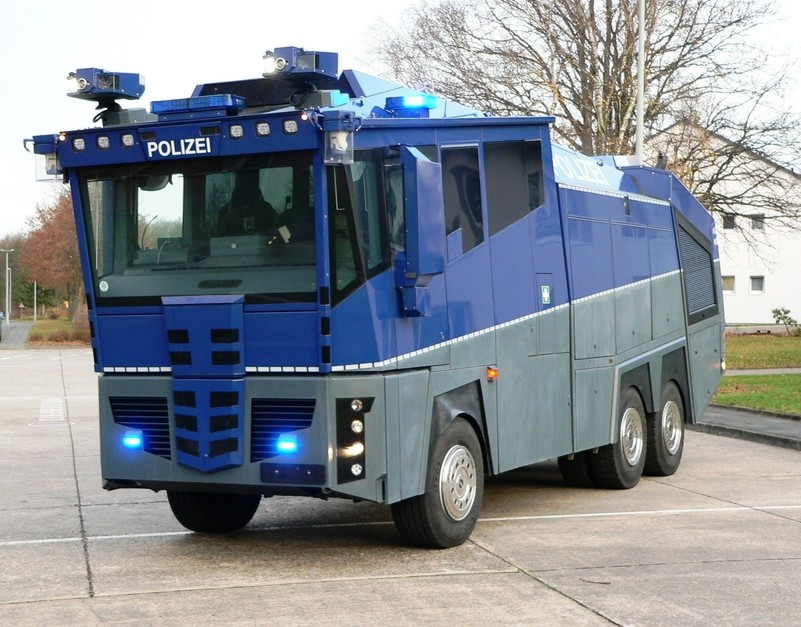 ACPO requests water cannon authorisation