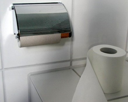 Emergency Call Made Over Toilet Roll