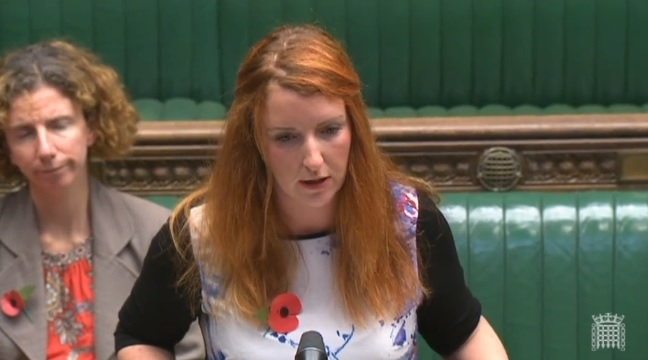 Shadow Policing Minister Louise Haigh