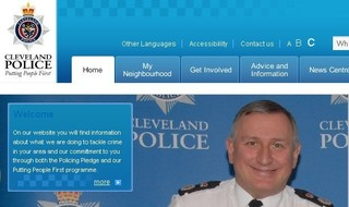 Sacked chief becomes face of force website