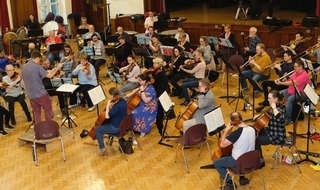 Rhapsody in blue for orchestra fighting mental health stigma