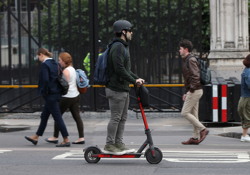 E-scooters should be legalised 'with enforced speed limits' says study
