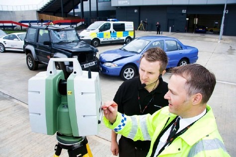 Collision Investigation On Right Track With 3D Laser Scanning