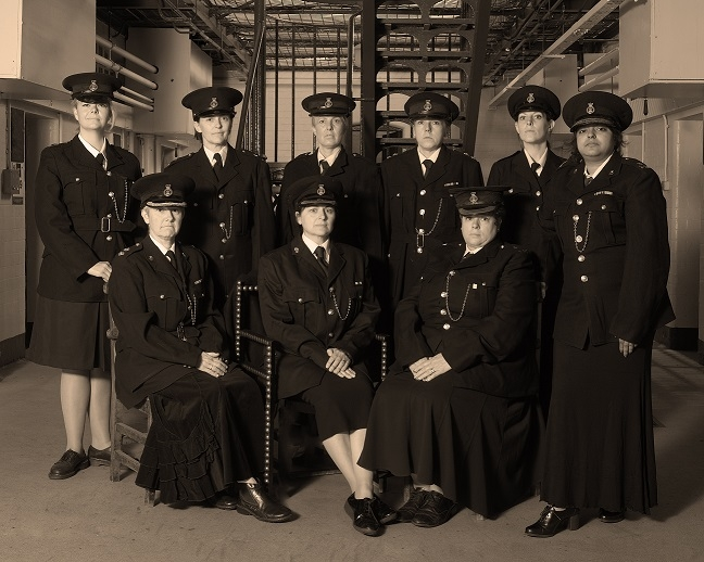 Women officers were first recruited in 1917