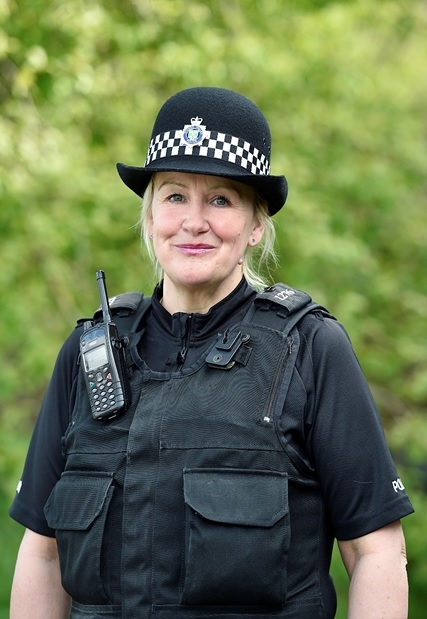 PC Julie Susel of Thames Valley, the force GRT liaison officer