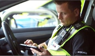 Tablet Technology 'Keeps More Officers On Beat'