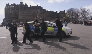 Police Scotland strut dance moves but Met duck invitation