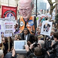 Legal aid protests 'putting police in difficult position'