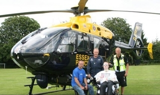 Special injured on duty wins care payout