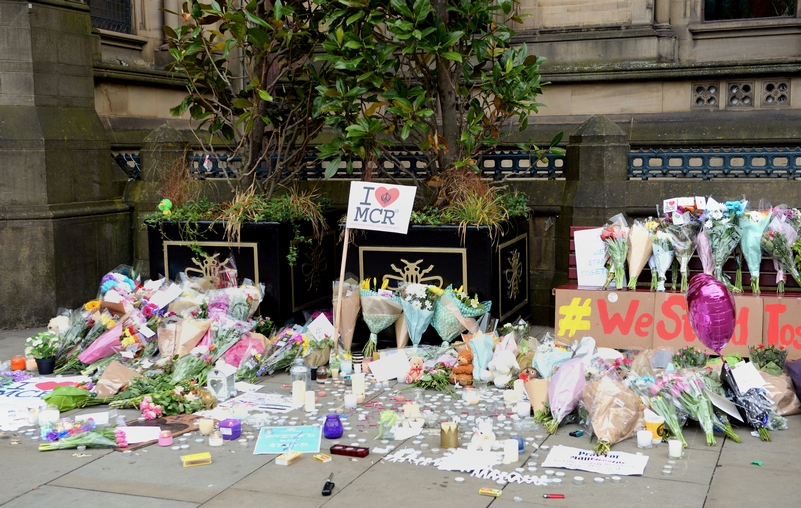 Tributes to those killed in the Manchester Arena attack. Photo: PA Wire