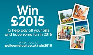 Win £2015 in 2015 with Police Mutual