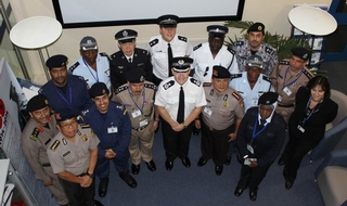 International officers turn to British policing for inspiration