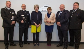 Home Secretary opens new firearms training centre