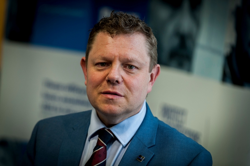 John Apter, Chairman of the Police Federation