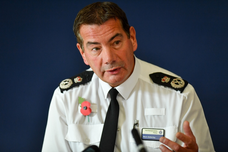 Chief Constable Nick Adderley
